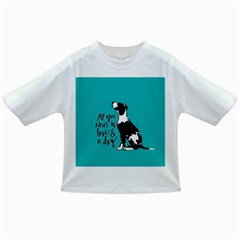 Dog Person Infant/toddler T Shirts by Valentinaart