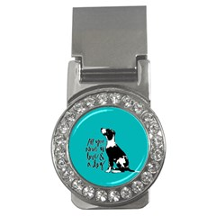 Dog Person Money Clips (cz)  by Valentinaart