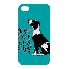 Dog Person Apple Iphone 4/4s Hardshell Case by Valentinaart