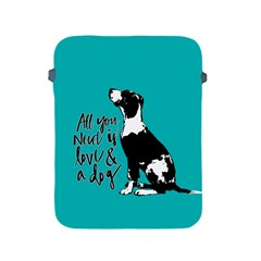 Dog Person Apple Ipad 2/3/4 Protective Soft Cases by Valentinaart