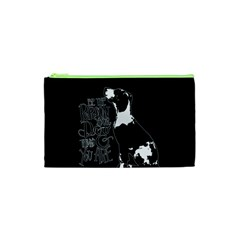 Dog Person Cosmetic Bag (xs) by Valentinaart