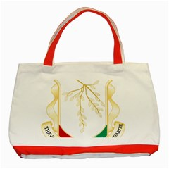 Coat Of Arms Of Republic Of Guinea  Classic Tote Bag (red) by abbeyz71