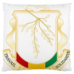 Coat Of Arms Of Republic Of Guinea  Standard Flano Cushion Case (one Side) by abbeyz71
