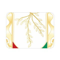 Coat Of Arms Of Republic Of Guinea  Double Sided Flano Blanket (mini)  by abbeyz71