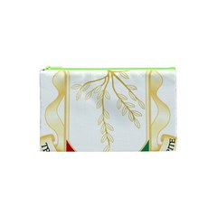 Coat Of Arms Of Republic Of Guinea  Cosmetic Bag (xs) by abbeyz71