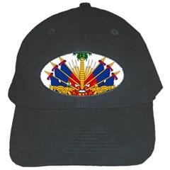 Coat Of Arms Of Haiti Black Cap by abbeyz71