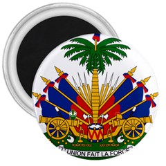 Coat Of Arms Of Haiti 3  Magnets by abbeyz71