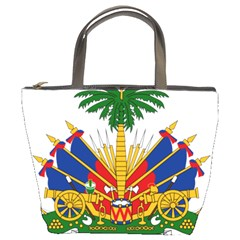 Coat Of Arms Of Haiti Bucket Bags by abbeyz71