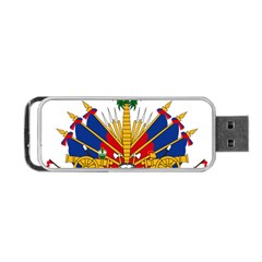 Coat Of Arms Of Haiti Portable Usb Flash (two Sides) by abbeyz71