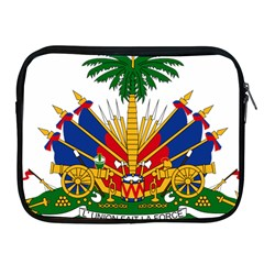 Coat Of Arms Of Haiti Apple Ipad 2/3/4 Zipper Cases by abbeyz71