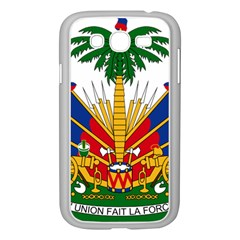 Coat Of Arms Of Haiti Samsung Galaxy Grand Duos I9082 Case (white) by abbeyz71
