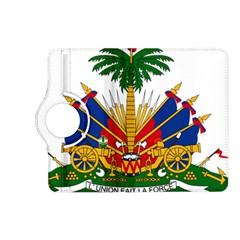 Coat Of Arms Of Haiti Kindle Fire Hd (2013) Flip 360 Case by abbeyz71
