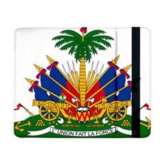 Coat Of Arms Of Haiti Samsung Galaxy Tab Pro 8 4  Flip Case by abbeyz71