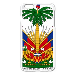 Coat Of Arms Of Haiti Apple Iphone 6 Plus/6s Plus Enamel White Case by abbeyz71