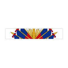 Coat Of Arms Of Haiti Flano Scarf (mini) by abbeyz71