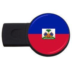 Flag Of Haiti  Usb Flash Drive Round (2 Gb) by abbeyz71