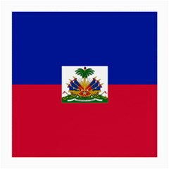 Flag Of Haiti  Medium Glasses Cloth (2 Side) by abbeyz71