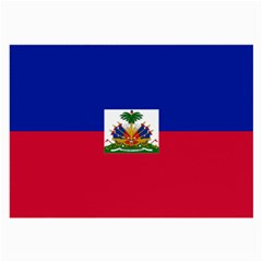 Flag Of Haiti  Large Glasses Cloth (2 Side) by abbeyz71