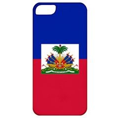 Flag Of Haiti  Apple Iphone 5 Classic Hardshell Case by abbeyz71