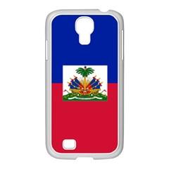 Flag Of Haiti  Samsung Galaxy S4 I9500/ I9505 Case (white) by abbeyz71