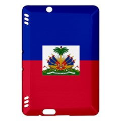 Flag Of Haiti  Kindle Fire Hdx Hardshell Case by abbeyz71