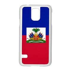Flag Of Haiti  Samsung Galaxy S5 Case (white) by abbeyz71