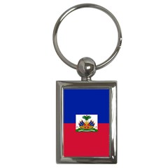 Flag Of Haiti Key Chains (rectangle)  by abbeyz71