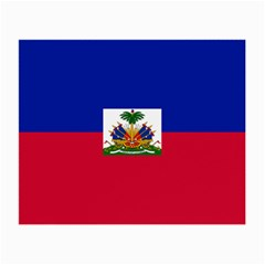 Flag Of Haiti Small Glasses Cloth by abbeyz71