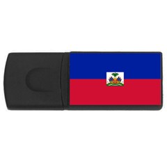 Flag Of Haiti Usb Flash Drive Rectangular (4 Gb) by abbeyz71