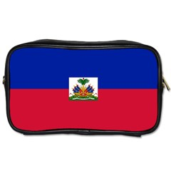 Flag Of Haiti Toiletries Bags 2 Side by abbeyz71