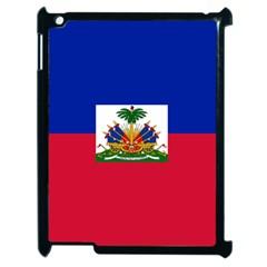 Flag Of Haiti Apple Ipad 2 Case (black) by abbeyz71