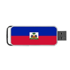 Flag Of Haiti Portable Usb Flash (one Side) by abbeyz71