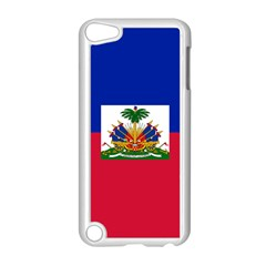 Flag Of Haiti Apple Ipod Touch 5 Case (white) by abbeyz71