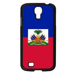 Flag Of Haiti Samsung Galaxy S4 I9500/ I9505 Case (black) by abbeyz71
