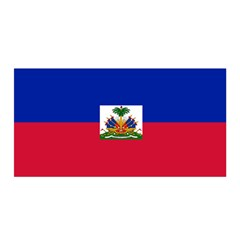 Flag Of Haiti Satin Wrap by abbeyz71