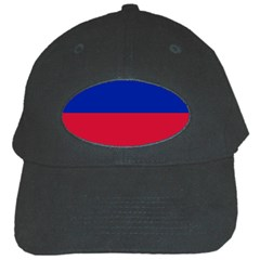 Civil Flag Of Haiti (without Coat Of Arms) Black Cap by abbeyz71