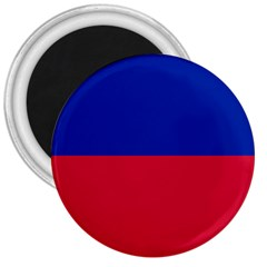Civil Flag Of Haiti (without Coat Of Arms) 3  Magnets by abbeyz71