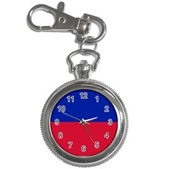 Civil Flag Of Haiti (without Coat Of Arms) Key Chain Watches by abbeyz71