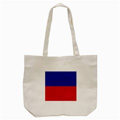 Civil Flag Of Haiti (without Coat Of Arms) Tote Bag (cream) by abbeyz71