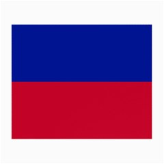Civil Flag Of Haiti (without Coat Of Arms) Small Glasses Cloth by abbeyz71