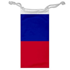 Civil Flag Of Haiti (without Coat Of Arms) Jewelry Bag by abbeyz71