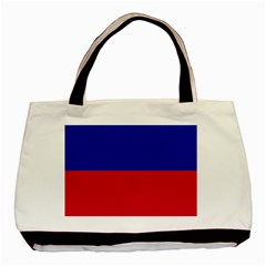 Civil Flag Of Haiti (without Coat Of Arms) Basic Tote Bag (two Sides) by abbeyz71