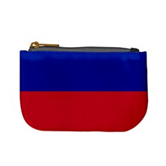 Civil Flag Of Haiti (without Coat Of Arms) Mini Coin Purses by abbeyz71
