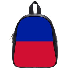 Civil Flag Of Haiti (without Coat Of Arms) School Bags (small)  by abbeyz71