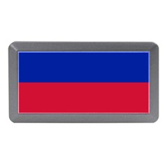 Civil Flag Of Haiti (without Coat Of Arms) Memory Card Reader (mini) by abbeyz71