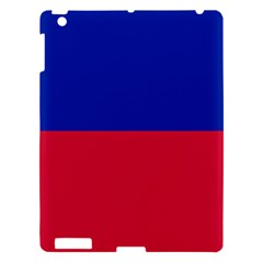 Civil Flag Of Haiti (without Coat Of Arms) Apple Ipad 3/4 Hardshell Case by abbeyz71