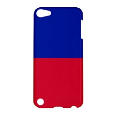 Civil Flag Of Haiti (without Coat Of Arms) Apple Ipod Touch 5 Hardshell Case by abbeyz71