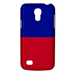 Civil Flag Of Haiti (without Coat Of Arms) Galaxy S4 Mini by abbeyz71