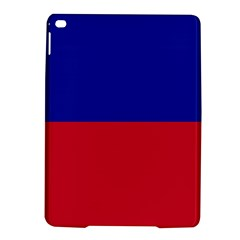 Civil Flag Of Haiti (without Coat Of Arms) Ipad Air 2 Hardshell Cases by abbeyz71