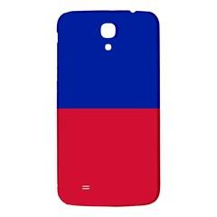 Civil Flag Of Haiti (without Coat Of Arms) Samsung Galaxy Mega I9200 Hardshell Back Case by abbeyz71